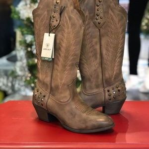 BRAND NEW!  Ariat Dusty Diamond Cowgirl Boots 